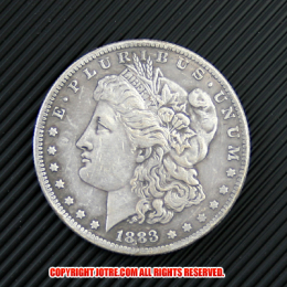 モルガン1ドル銀貨1883年(レプリカコイン)