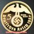 ドイツ1937年金貨(レプリカ)の画像1