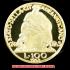 1943年 バチカン100リラゴールドコインの画像2