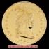 キャップド・バスト(右向き)ヘラルディックイーグル金貨1798年(レプリカコイン)の画像4