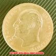 1908年 ブルガリア フェルディナンド1世 100レバ金貨(レプリカコイン)