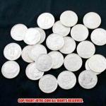 バーバー・ダイム10セント(レプリカ)銀貨(1892年〜1916年:計25枚)