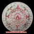 アステカ族 マヤ暦シルバーコイン(メッキ)の画像1
