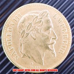 ナポレオン3世ゴールドコイン6枚セット!(レプリカコイン)