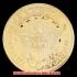 キャップド・バスト(右向き)ヘラルディックイーグル金貨1798年(レプリカコイン)の画像2