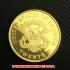 リバティヘッド・ダブルイーグル20ドル金貨1849年(レプリカコイン)の画像2