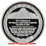 US Prophecy of the Mayan Long-Count Calendar 2012年 レプリカコインシルバー