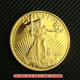 セントガーデン イーグル金貨1933年(レプリカコイン)