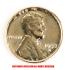 金鍍金 1セントコインの画像1