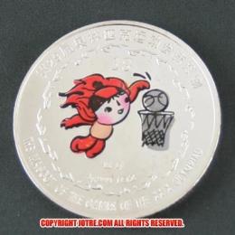 レプリカコイン☆北京オリンピック記念メダル バスケットボール