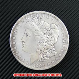 モルガン1ドル銀貨1902年(レプリカコイン)