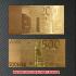 金のユーロセット レプリカ札の画像5