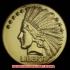 インディアンヘッドダブルイーグル1907年金貨(レプリカコイン)の画像4