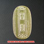 レプリカ小判:文字小判(プラスチック製)