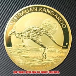 2015年オーストラリアカンガルー100ドル金貨(レプリカコイン)
