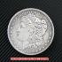 モルガン1ドル銀貨1884年(レプリカコイン)の画像1