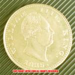 1835年 ウィリアム4世(William IV) モハール パターン金貨(レプリカコイン)