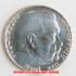 アウトレット品★本物★ナチスドイツ銀貨reichsmark2ライヒスマルクコイン1937Dの画像2