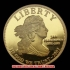 第3代大統領トーマスジェファーソン10ドル金貨(レプリカコイン)の画像1