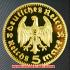 ドイツ1936年金貨(レプリカ)の画像1