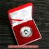 レプリカコイン☆北京オリンピック記念メダル バトミントン 妮妮(ニーニー)ケース付きの画像1