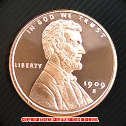 リンカーン コッパーコイン (レプリカコイン)