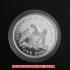 シーテッド・リバティ・ダラー銀貨1859年プルーフ(レプリカコイン)の画像3