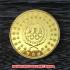 北京オリンピック(BEIJING 2008) 記念金メダル ケース付きの画像3