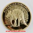 オーストラリア 2011年カンガルー100ドル金貨(レプリカコイン)