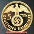 ドイツ1938年金貨(レプリカ)の画像1