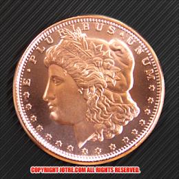 リバティヘッド コッパーコイン 銅貨(レプリカ)