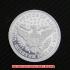 バーバー・クォーター・ダラー1901年銀貨(レプリカコイン)の画像2