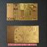 金のユーロセット レプリカ札の画像4