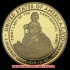 初代アメリカ合衆国大統領ジョージ・ワシントン夫人マーサ・ワシントン10ドル金貨(レプリカコイン)の画像1