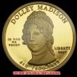 第4代ジェームズ・マディスン夫人:ドリー・マディスン10ドル金貨(レプリカコイン)