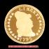 キャップド・バスト(右向き)スモールイーグル金貨1795年(レプリカコイン)の画像1