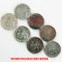 アウトレット品★本物★ナチスドイツ銀貨reichsmark2ライヒスマルクコイン7枚セットの画像3