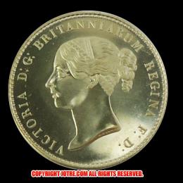 アウトレット1839 ブリティッシュ 5ポンド 金貨 (ウナ&ライオン) レプリカコイン
