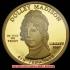 第4代ジェームズ・マディスン夫人:ドリー・マディスン10ドル金貨(レプリカコイン)の画像4