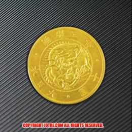 幻!明治3年旧10円金貨 十圓金貨幣(レプリカコイン)