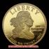 第3代大統領トーマスジェファーソン10ドル金貨(レプリカコイン)の画像4
