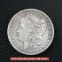 モルガン1ドル銀貨1880年(レプリカコイン)の画像1