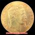 エンペラー ナポレオンIII 1966-A 50フラン金貨(レプリカコイン)の画像1