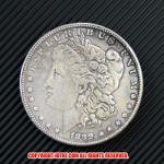モルガン1ドル銀貨1899年(レプリカコイン)