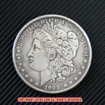 モルガン1ドル銀貨1903年(レプリカコイン)