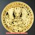 ドイツヒンデンブルク金貨(レプリカ)の画像2