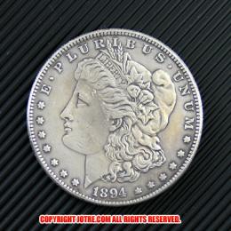 モルガン1ドル銀貨1894年(レプリカコイン)
