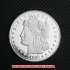 モルガン1ドル銀貨1895年プルーフ(レプリカコイン)の画像1