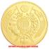 復刻版 近代銭 明治三年銘 旧二十圓 金貨 艶消し仕上げ レプリカの画像2
