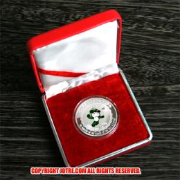レプリカコイン☆北京オリンピック記念メダル バトミントン 妮妮(ニーニー)ケース付き